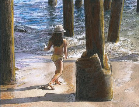 Little-jessica-and-her-hat-malibu-pier-001-copy