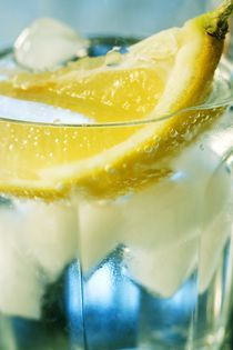 Fresh water with lemon by Peter Zvonar
