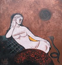 Woman and the Viper von Lalit Kumar Jain
