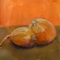 Yellow Onions Still Life von Michelle Calkins