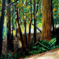 Woodland Path von Michelle Calkins