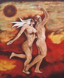 Sky-clad...Art on the Go. von Lalit Kumar Jain