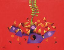 Abstract Red von Lalit Kumar Jain