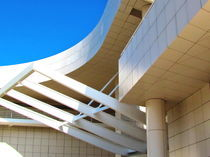 Richard Meier architect. Detail of Getty museum by Maks Erlikh