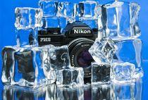 Film Camera on Ice by Ken Howard