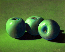 Green Apples von Frank Wilson