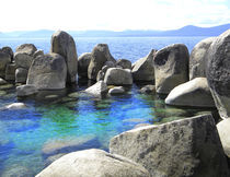 Water Stonehenge Lake Tahoe by Frank Wilson