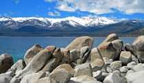 Boulder Shore Lake Tahoe by Frank Wilson