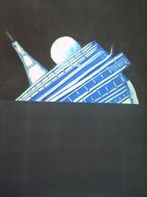 the ship lights up the night von Sergio alexandre.