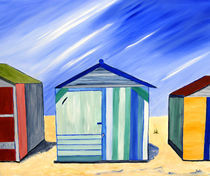 Beach Shacks by Sula Chance