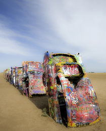 Cadillac Ranch 20 von Luc Novovitch