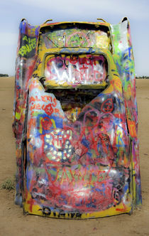Cadillac Ranch 19 by Luc Novovitch