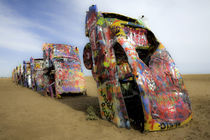 Cadillac Ranch 18 von Luc Novovitch
