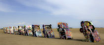 Cadillac Ranch 17 by Luc Novovitch