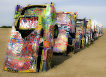 Cadillac Ranch 16 by Luc Novovitch