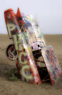 Cadillac Ranch 14 by Luc Novovitch