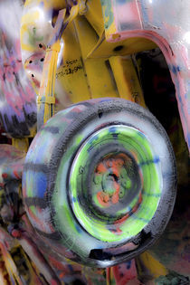 Cadillac Ranch 11 von Luc Novovitch