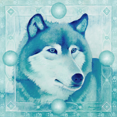 Chasing-wolf