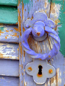 Terrace Door by Lainie Wrightson