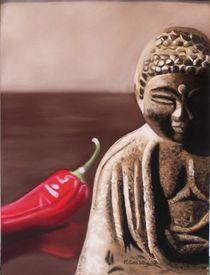 Capsicum Monk by Melanie Cossey