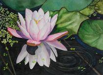 Zen Lily  by lynne-hurd-bryant
