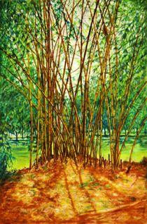 Bamboo Grove von Usha Shantharam