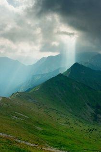 Mountain peaks by Peter Zvonar