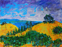 Mount Tamalpais by Zolita Sverdlove