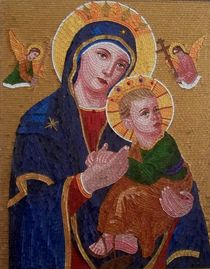 Mother of Perpetual Help by Liza Wheeler