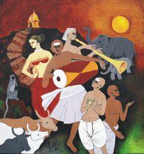 Divine Dance von Lalit Kumar Jain