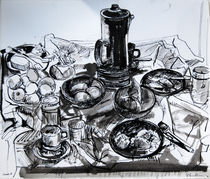 Still Life with Coffee Pot by Zolita Sverdlove