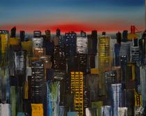 Sunrise Cityscape by Chris Cox
