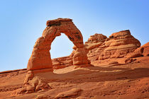 Delicate Arch - The Arches National Park Utah by Christine Till