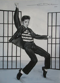 Elvis Presley Jailhouse Rock von Eric Dee