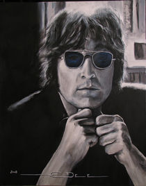 John Lennon - Shades of Blue von Eric Dee