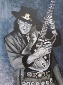 SRV - SRV - Stevie Ray Vaughan RIP by Eric Dee