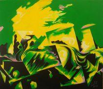 Abstract green von Lalit Kumar Jain