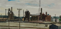 Steel Plant, Pittsburgh by Robert Bowden