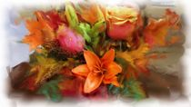 Flower Bouquet 2 by Usha Shantharam