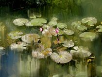 Lotus Pond 1 by Usha Shantharam