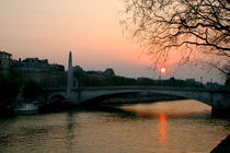 Seine-at-sunset
