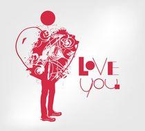 I love you by Tatiana Sevostyanikhina