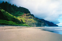 Kalalau Beach Kauai by Kevin W.  Smith