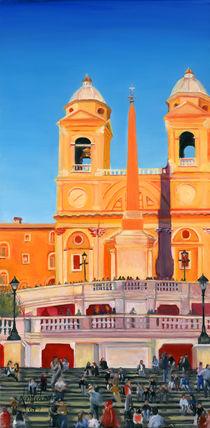 The Spanish Steps 1 von Leah Wiedemer