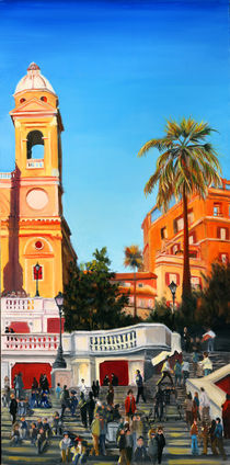 Spanish Steps 2 by Leah Wiedemer