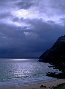 Makapuu Moonlight Oahu Hawaii von Kevin W.  Smith