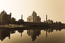 The Taj in all its glory von Samar Jha