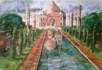 Taj Mahal. India by Núria Vives