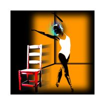 dancer and chair von Mark Fearn