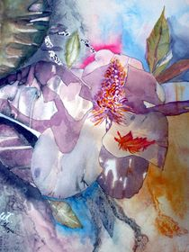 Abstract Magnolia by Warren Thompson